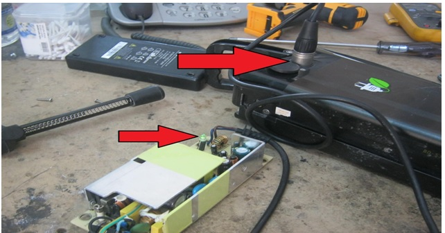 how to fix battery charger power supply