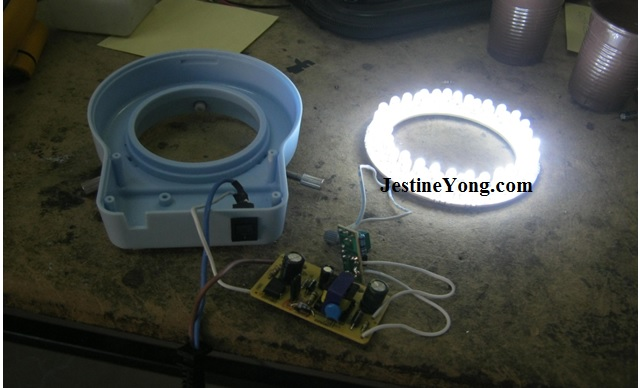 how to fix microscope light