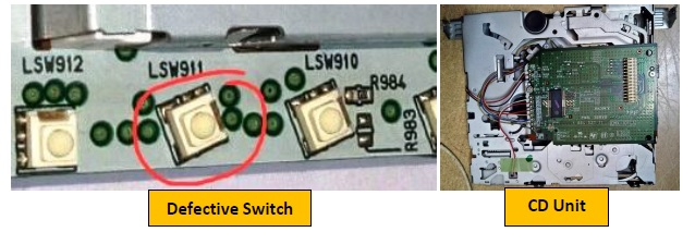 sony car stereo ic replace