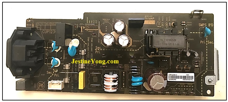 denon avr 2312 power supply repair and fix
