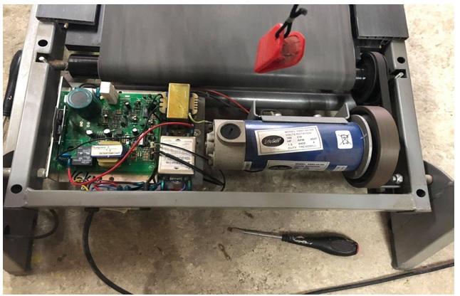 irfp450 fet in treadmill power board