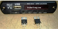 5.1 speaker system repaired