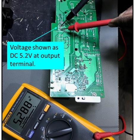 5.2 volt dc supply