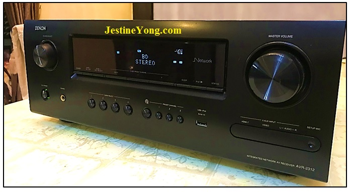 how to fix denon avr 2312 home theater system