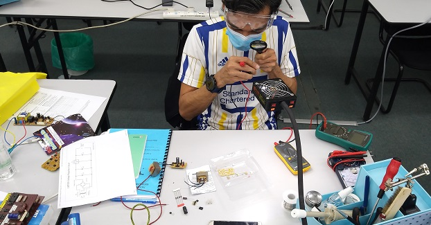 electronics repair course for usj subang  student