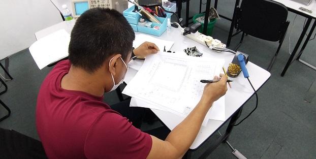kursus elektronik membaiki peralatan rumah bangi