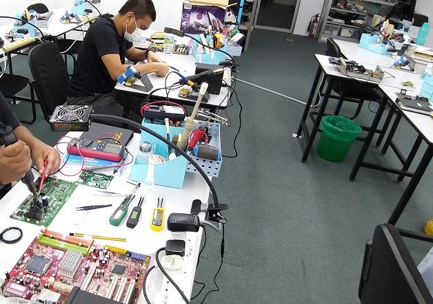 kursus elektronik baiki masalah elektronik