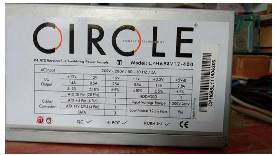 circle atx power supply repair