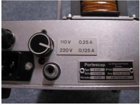T125mA 250VAC fuse
