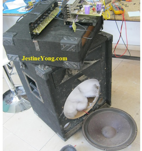 how to repair two ways speaker system
