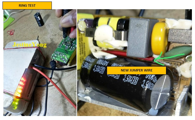 how to fix lg power adapter