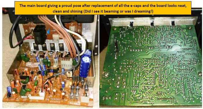 active surround sound mainboard fix