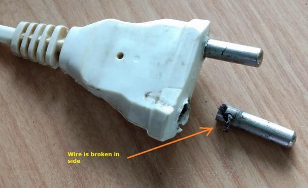 broken ac cable repair