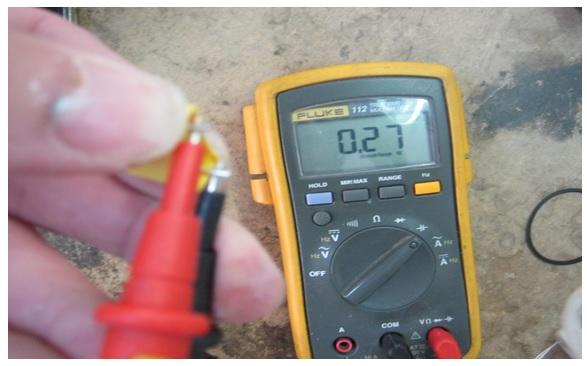 bad capacitor value