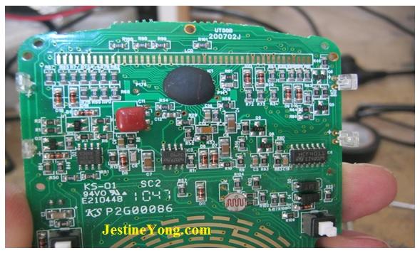 unit-t multimeter circuit board repair