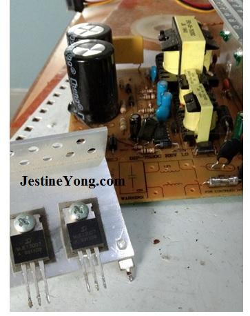 atx power transistor test