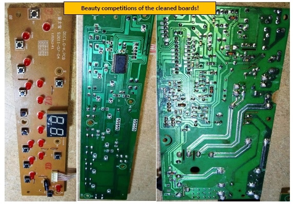induction cooker board repair