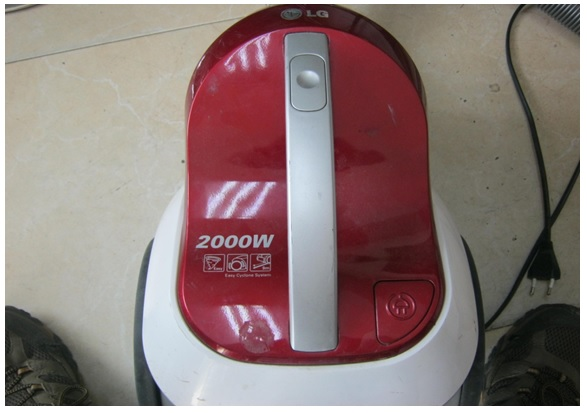 how to fix lg vacuum cleaner