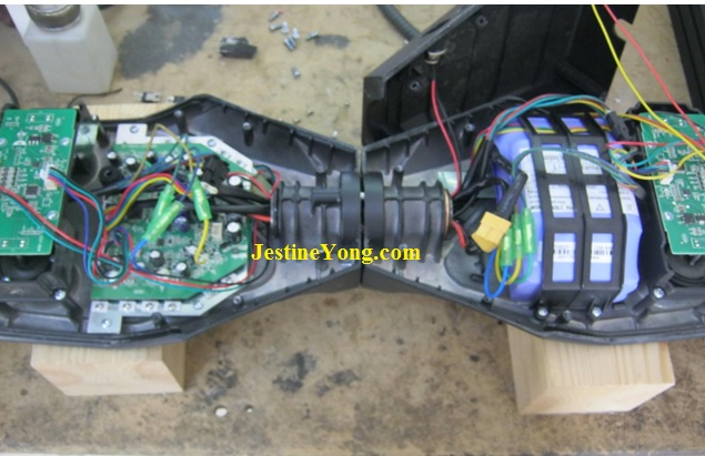 how to repair hoverboard