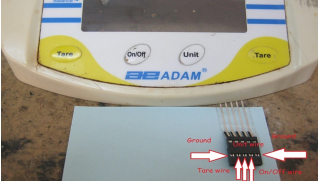 how to repair electronic scale
