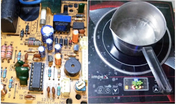 fixing induction cooker  e6 error