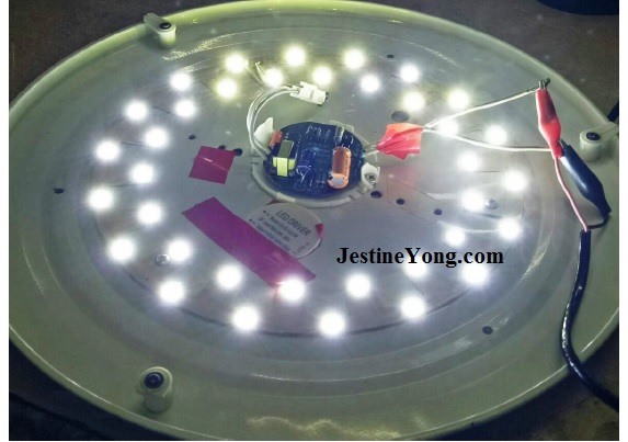 how to easily repair led lights