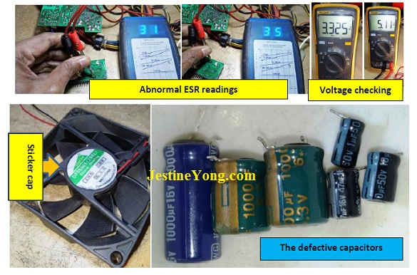 Atx power supply By A Professional Repairman From India