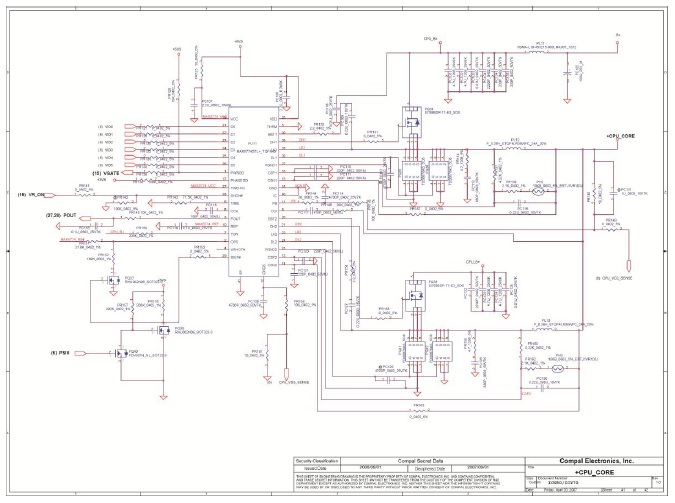 acer laptop circuit diagram