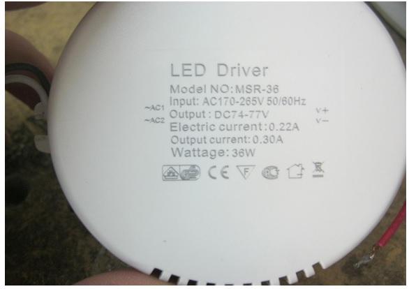 led driver light repair