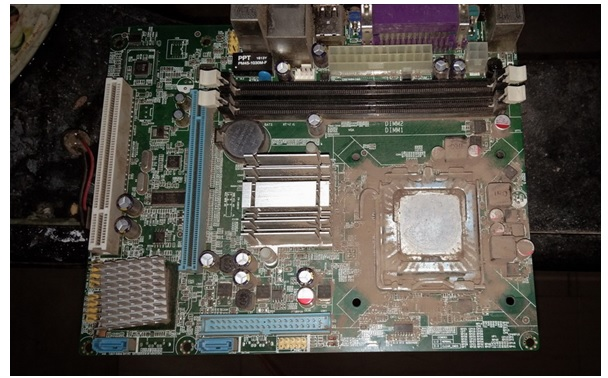 how to fix computer board