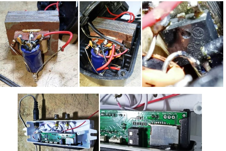 how to repair power adapter from India Technician