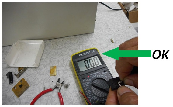 how to test a switch with multimeter