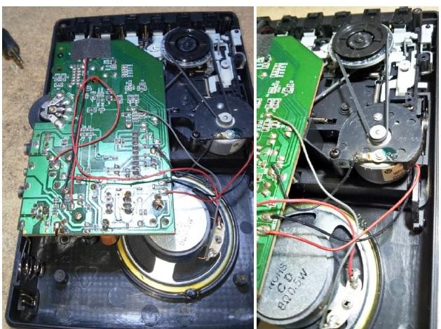 how to repair ferguson tape recorder