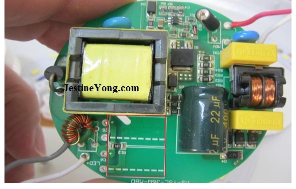 led light power supply repair