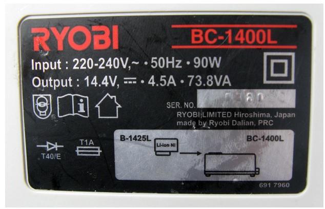 ryobi battery charger repair