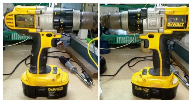 drill battery repair