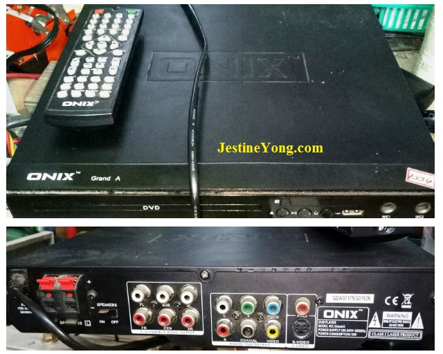 Onix dvd player repair