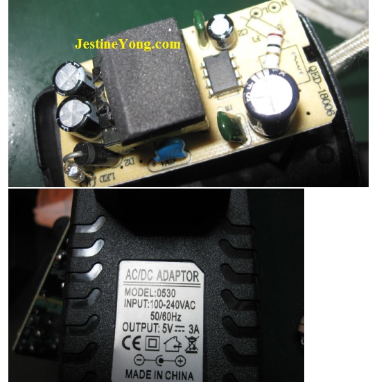 how to fix raspberry power adapter