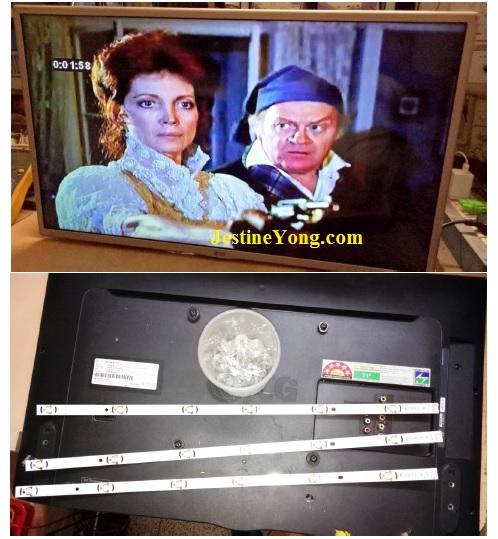 LG Led Tv backlight problem fixed