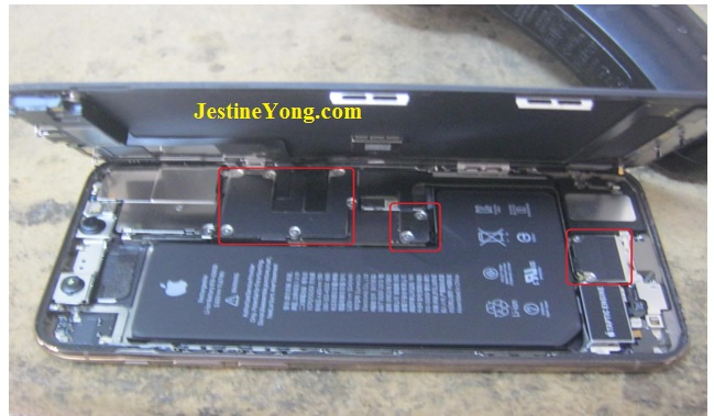 iphone 11 pro repairing