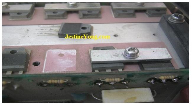 zika welding machine repairing