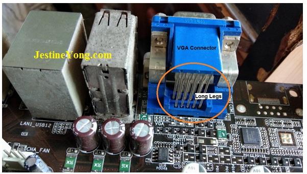 motherboard port repair