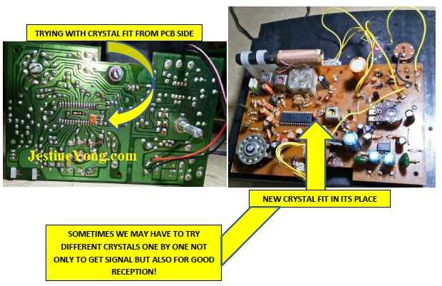 how to fix and repair Sony am/fm radio
