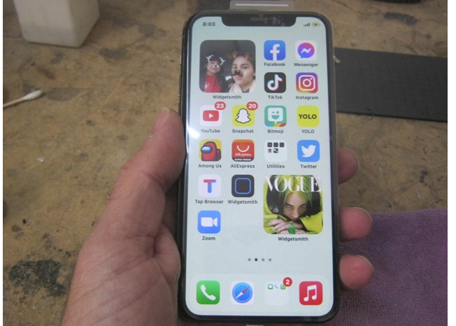 iphone 11 pro screen broken fixed