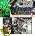 Restored A Liquid Seepage Spoiled AHUJA Power Amp Model DPA770