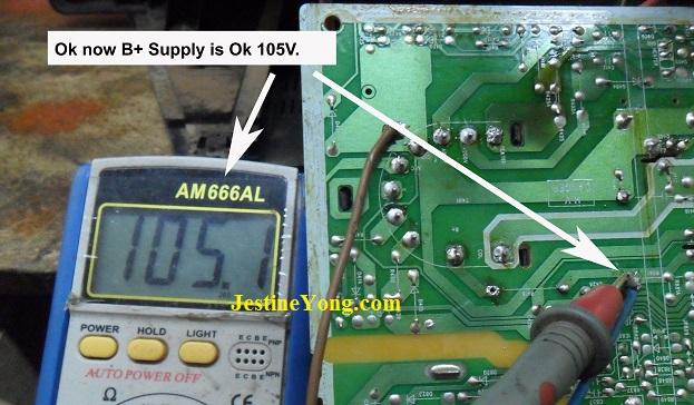 normal voltage in flyback