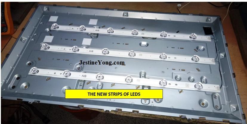 lg led tv backlight bad