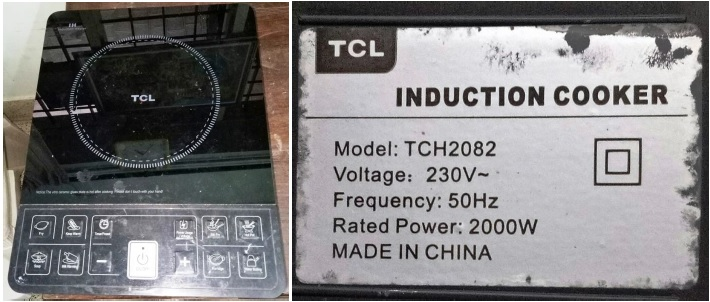 tcl induction cooker repair