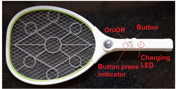 how to fix mosquito racket
