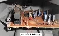 panasonic cd rcr repair